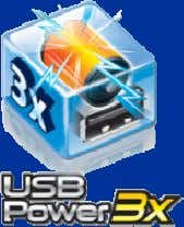 stable, less power spikes Better USB device compatibility Supports more USB devices through USB hub Support