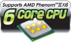 GA-880GMA-UD2H(2.0) Chipset - AMD 880G, SB850 Processor Support - AMD AM3 PhenomII/ AthlonII processors (6core CPU