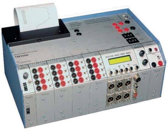 TM1600/MA61 Circuit Breaker Analyzer System User's Manual A Megger Group Company