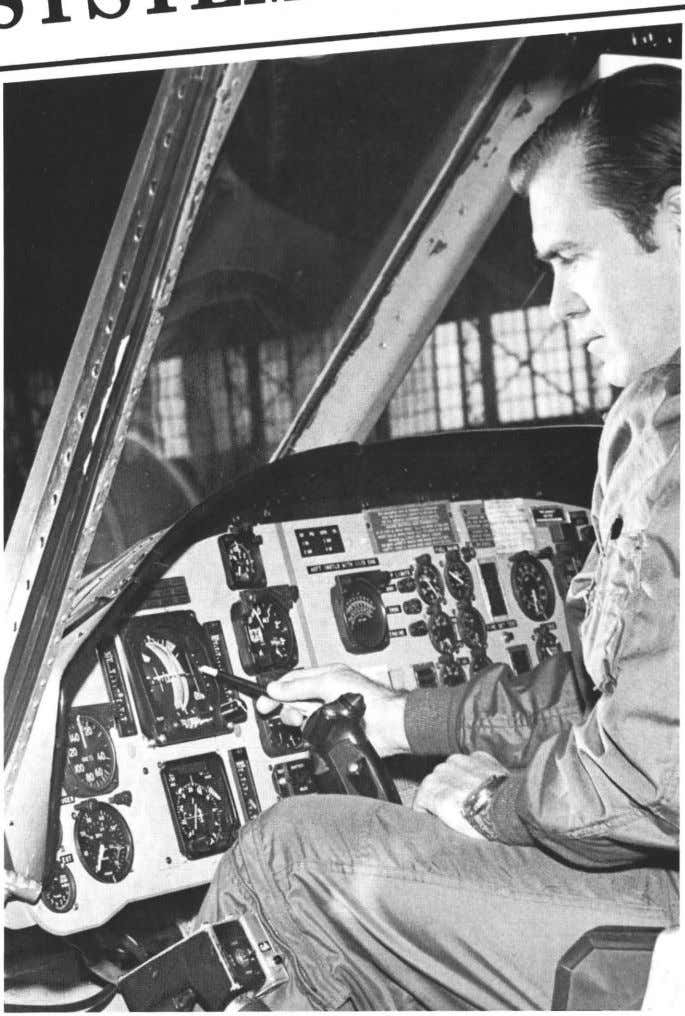 d Development ActIVIty SYSTEM AvionicS ReS~~~~~~mouth, NJ At controls of helicopter, CPT James H. Boschma, Research