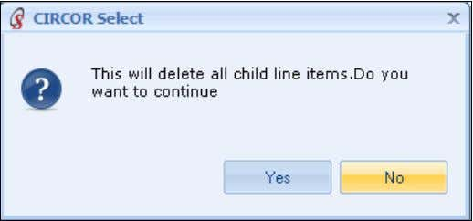 menu options, and then click on Delete Alternate Solutions, Click Yes to delete all the child