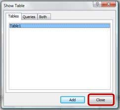 Data 3. Klik Close untuk menutup kotak dialog Show Table 4. Klik kanan tab query 