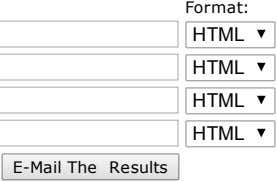 Format: HTML HTML HTML HTML E­MailThe Results