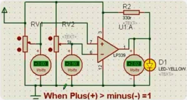 as LM339 is not. So without the resistor R2, as shown in the above figure, it