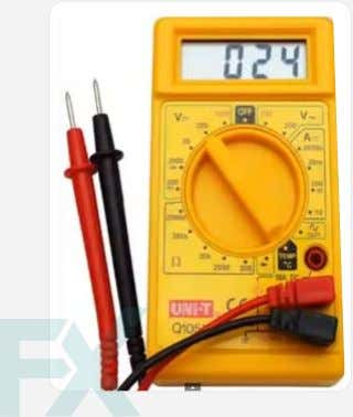 to the meter and the circuit, and thus protects the user. Digital Mulitmeter Analog Multimeter An