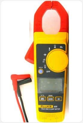 damages if the multimeter is connected to a wrong port. Fluke Multimeter 1.10 Microcontroller A microcontroller