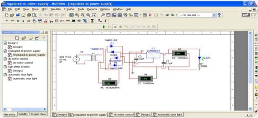 the circuit using circuit building software and simulate it. Circuit Drawing and Simulation Here, our choice