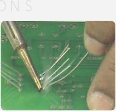 iron tip with bare hands. Misplacing Soldering Iron Overheating Of Soldering Iron 4. Soldering for a