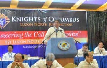 "hear the cry of mother earth and the poor,"" said Gariguez. KCFAPI President Justice Jose C."