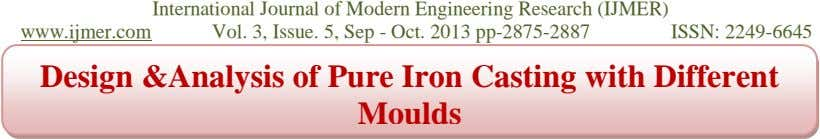 www.ijmer.com International Journal of Modern Engineering Research (IJMER) Vol. 3, Issue. 5, Sep - Oct.