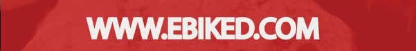 EBIKED WWW.EBIKED.COM