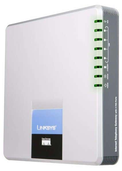 SPA400 Internet Telephony Gateway with 4 FXO Ports Administration and Configuration Guide v1.0
