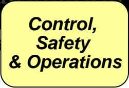 Control, Safety & Operations