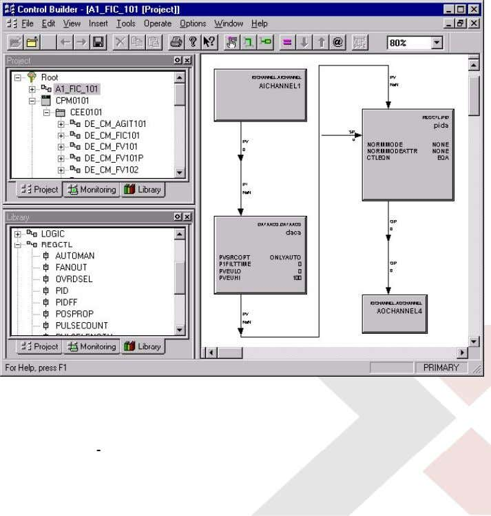 Logic, Device, Sequences, and Fieldbus! • ONE Database: – Controller – HMI – Applications – All