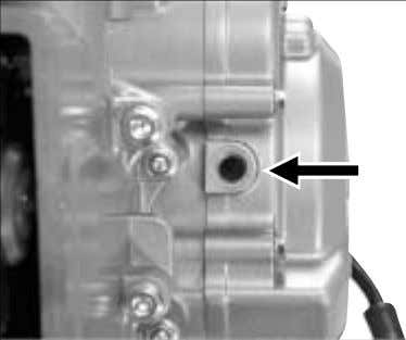 camshaft drive chain into the crankcase. ● Remove the four cylinder head bolts in diagonal stages.