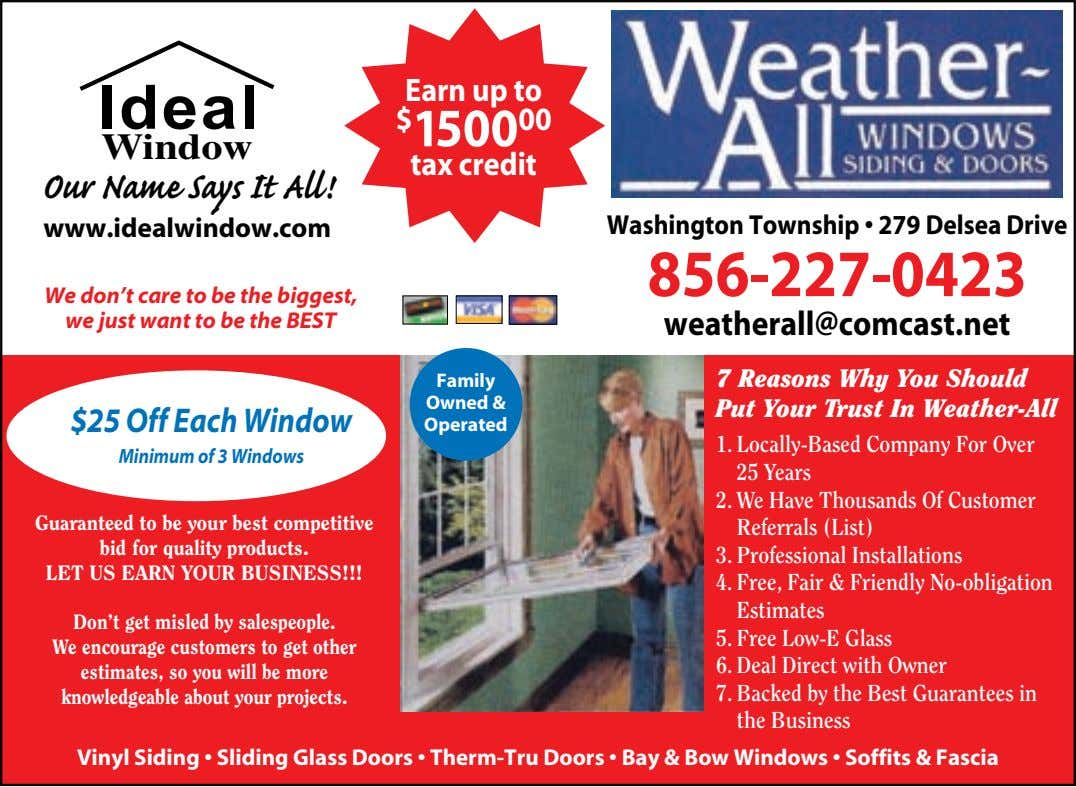 Earn up to Ideal $ 1500 00 Window tax credit Our Name Says It All! www.idealwindow.com