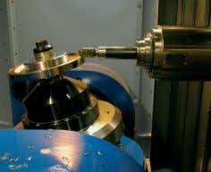 Kühlmitteleinheit Rotary Table Drehtisch WARUM THUNDER 5-axis machining on Thunder Machining Center equipped with