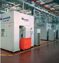 FLEXIBLE AUTOMATION FLEXIBLE AUTOMATISIERUNG Combined plant consisting of: No. 2 Thunder 630; No. 1 Thunder 800