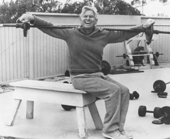 Paul and Patricia Bragg Lift Weights 3 Times Weekly A Boston study and others proved weight-