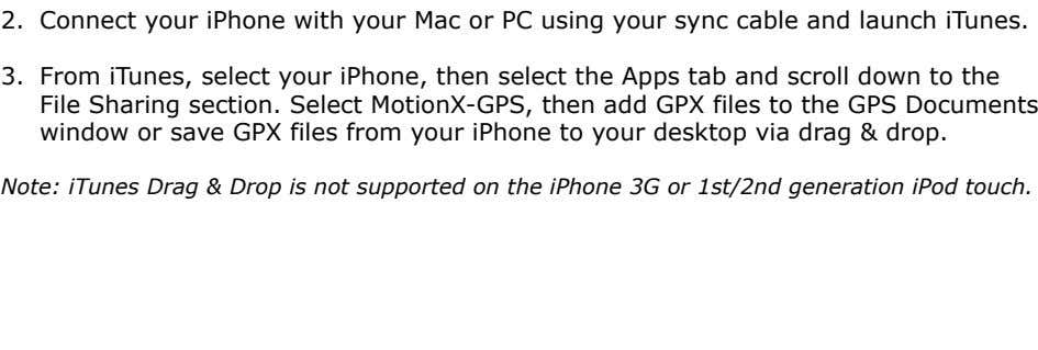 ! 2. Connect your iPhone with your Mac or PC using your sync cable and