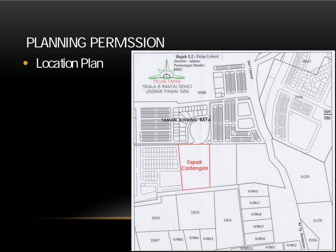 PLANNING PERMISSION • Location Plan 6/18/2014 13