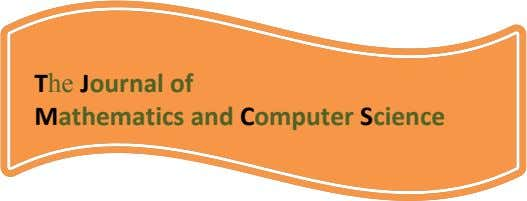 The Journal of Mathematics and Computer Science