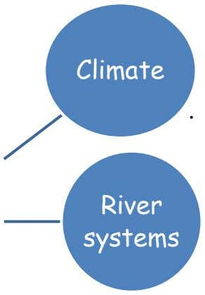 Climate • River systems