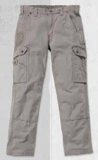 TROUSERS Ripstop Cargo Work Pant B342 9.25-ounce / 314 gram, 100% cotton ripstop fabric · Sits