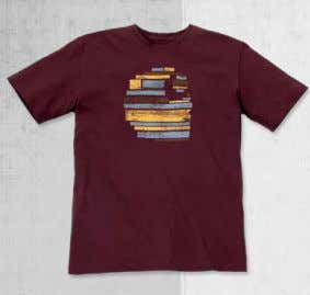 Tops TOPS Page 58 TOPS NEW Wooden Relaxed Fit T-Shirt 100563 NEW Earn What You Eat