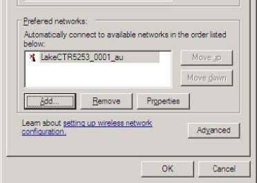 Network & Firewall Overview Figure 3-14: Preferred Networks List 5. Select the GENERAL tab, scroll down