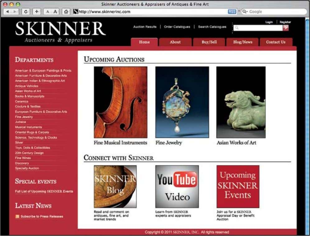 Register… Preview… and Bid Live Online Preview Auctions Online Flip through the pages of our interactive