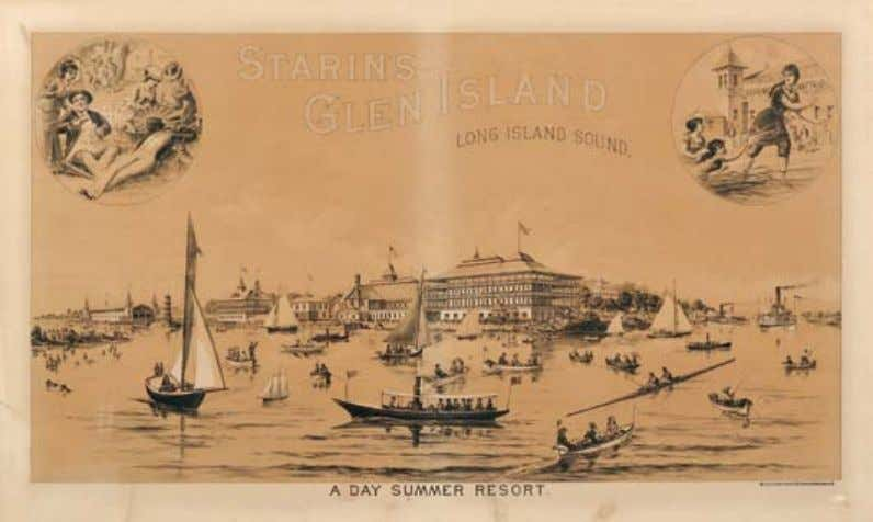 443 443. 444 Donaldson Brothers, lithographers (New York, Early 20th Century) Starin's Glen Island, Long Island