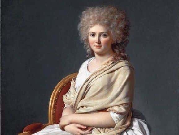 Jacques Louis David Anne-Marie-Louise Thélusson, Comtesse de Sorcy - 1790 Napoleon at the St. Bernard Pass