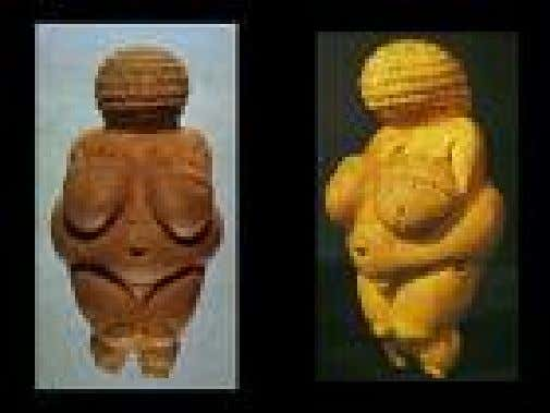 de mamute Encontrada na França – Museu do Homem – Paris Vênus de Willendorf - pedra