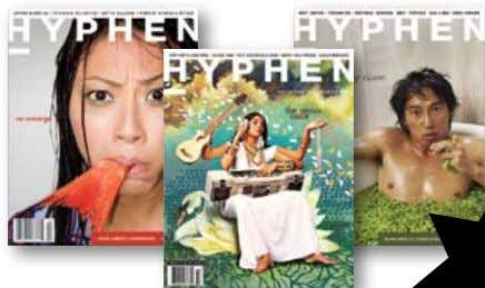 asian american news, pop culture, independent arts. $2 o f f subscribe today! Mention this ad