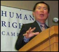 him on his career, his life, and legacy. Takei as Mr. Sulu Speaking at Human Rights