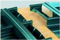 Drip angle Ridge Gable end profile (Al) provides fastening device for joining sheets Gable end