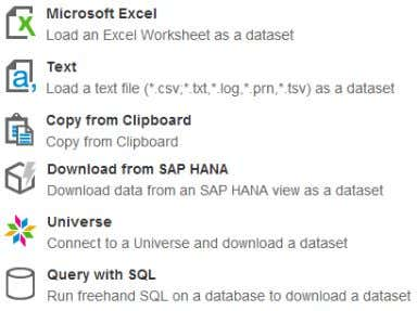 – Context and Prompt selection  Query with SQL Connect Approach respects user rights  SAP
