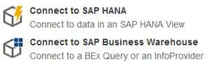  SAP HANA  SAP Business Warehouse (with limitations)  Forced BI server side refresh for