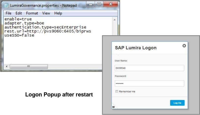 Logon Popup after restart