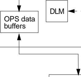 DLM OPS data buffers