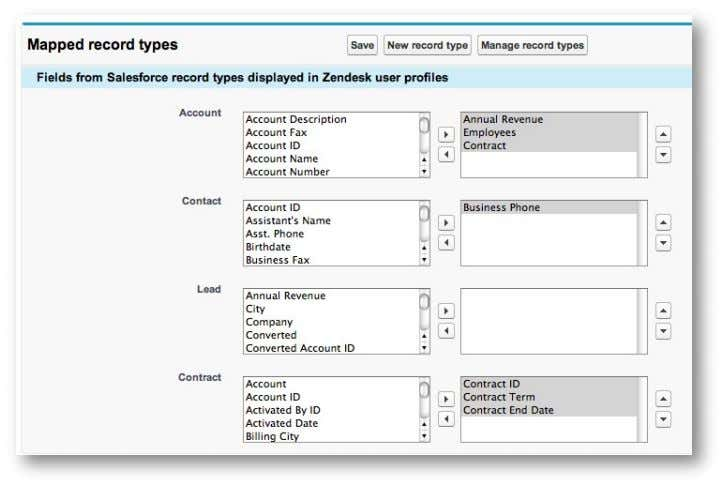 Guide to Customizing and Integrating Zendesk Figure 9 – Mapping Fields Between Zendesk and Salesforce.com Integrating
