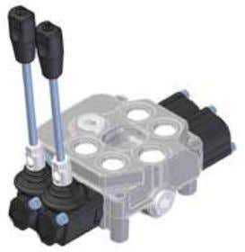 check on each section • Auxiliary valves available on all ports • Emergency unloading valve Page