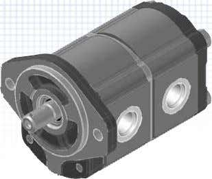 HY15PHY20P Aluminium Bodied Gear Pumps • From 1.4 cc/rev through to 99 cc/rev in 5 different