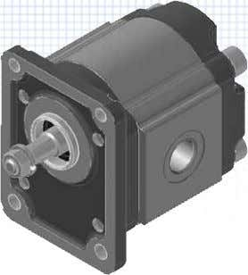 rear covers • Motors available for fan drive application   Displacement Max. continuous pressure Max.