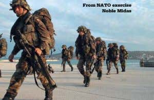 from NATO exercise Noble Midas