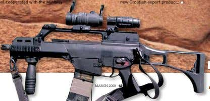 "the assault rifle will be their and thus a pistols. ""If we had not cooperated with"