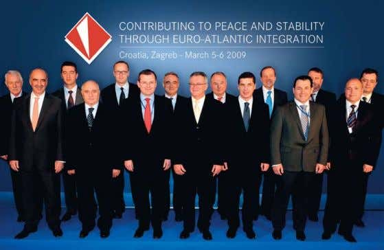 mInIsters of south-eastern european countrIes In Zagreb foR peace and secuRity of the Region, but also