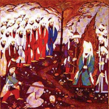 He has made known to them. Qur'an Sura 47 Verses 4-5 Picture: Execution of Al-Nadr bin