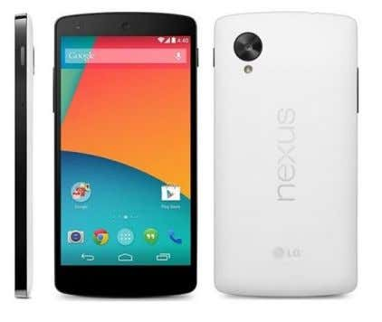 Modelo Google LG Nexus 5 Chipset Qualcomm Snapdragon 800 MSM8974 Procesador Quad core, 2260 MHz, Krait